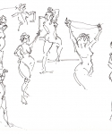 2 minute starting poses